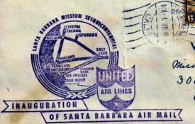 Airmail Route Stamp