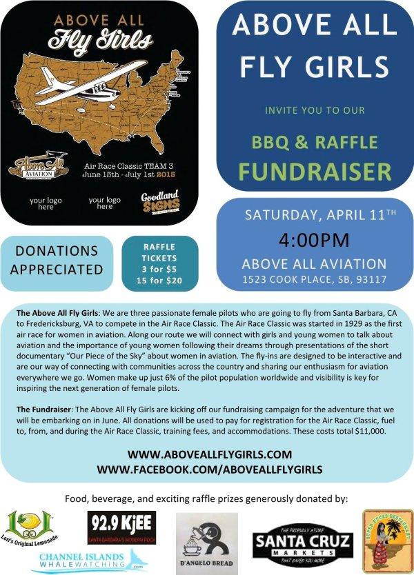 AAFG BBQ fundraiser poster